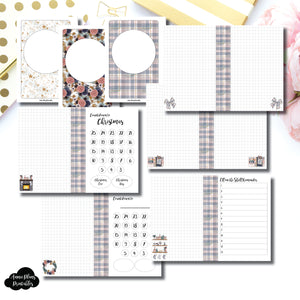 Personal Rings Size | 2019 Holiday Planning Bundle Printable Insert ©
