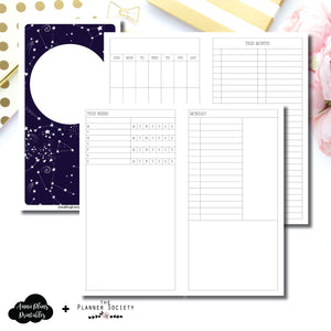 Standard TN Size | LIMITED EDITION: NOV TPS Undated Daily Collaboration Printable Insert ©