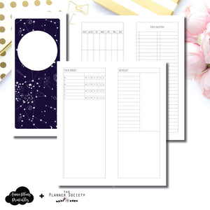 Half Page HP Size | LIMITED EDITION: NOV TPS Undated Daily Collaboration Printable Insert ©