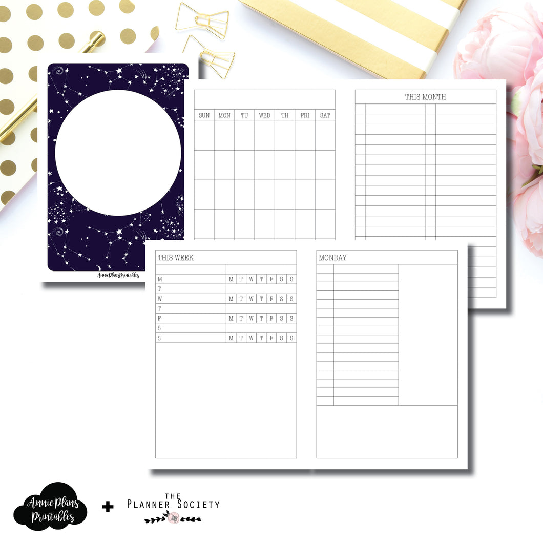 A6 TN Size | LIMITED EDITION: NOV TPS Undated Daily Collaboration Printable Insert ©