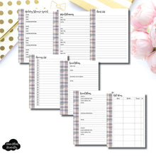 B6 Rings Size | 2019 Holiday Planning Bundle Printable Insert ©