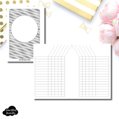 Pocket Plus Rings Size |  Simple Tracker Printable Insert