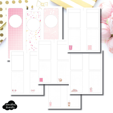 Skinny Mini HP Size | Arias Daydream Pretty in Pink Collaboration Printable Insert ©