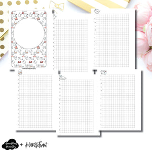 Pocket Plus Rings Size | SeeAmyDraw Timed Daily Grid Collab Printable Insert