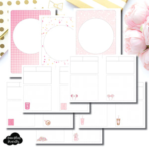A6 TN Size | Arias Daydream Pretty in Pink Collaboration Printable Insert ©