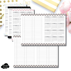 Standard TN Size | 2020 Year at a Glance Printable Insert ©
