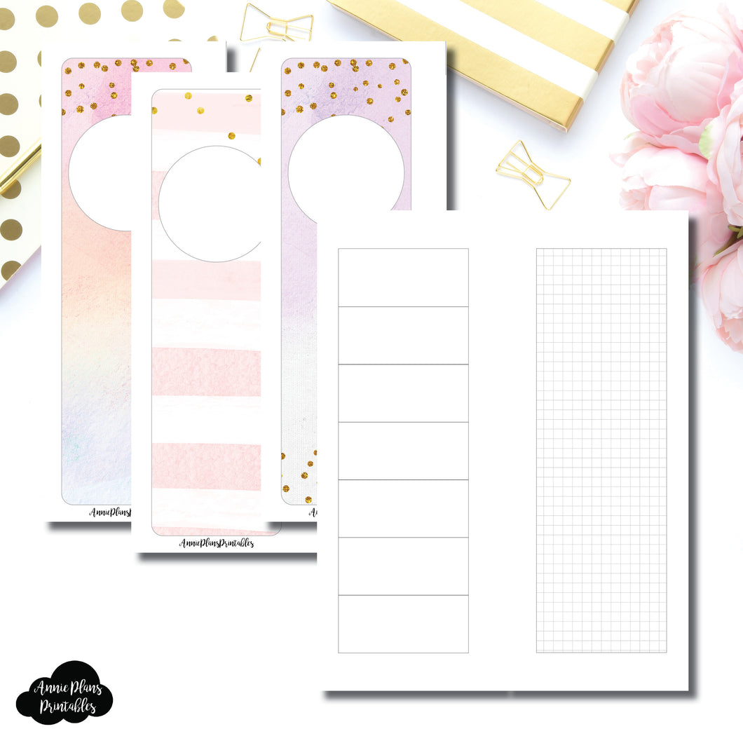 Skinny Mini HP Size | HWeeks Weekly Layout Printable Insert ©
