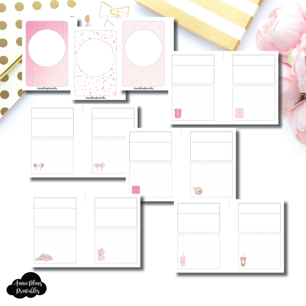Micro HP Size | Arias Daydream Pretty in Pink Collaboration Printable Insert ©