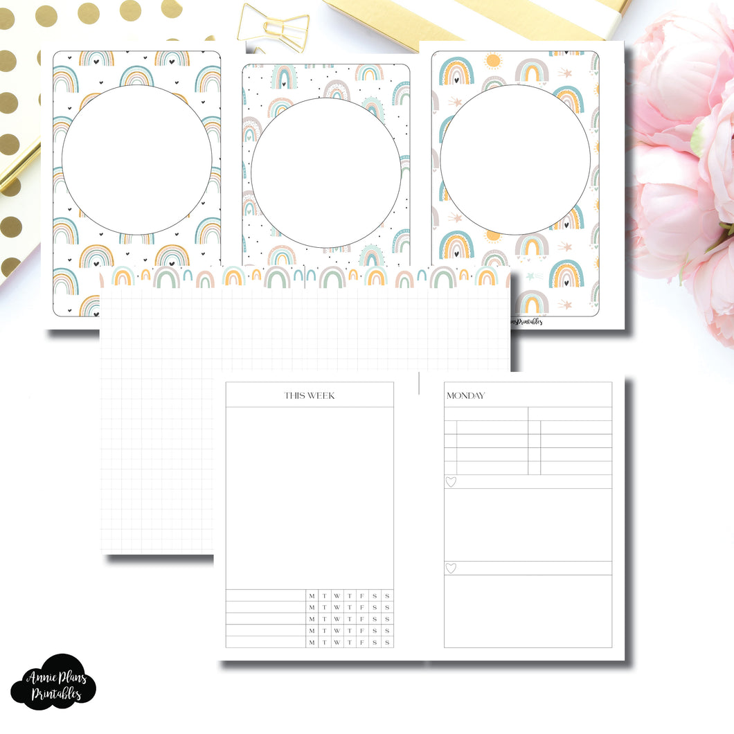 A6 TN Size | Self Care Printable Insert