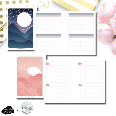 Pocket Plus Rings Size | Hey Soul Sticker Collaboration Notes Printable Insert ©