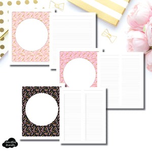 B6 Rings Size | Teacher Bundle Printable Inserts