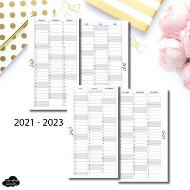 FC Rings Size | 2021 - 2023 Important Dates Printable Insert