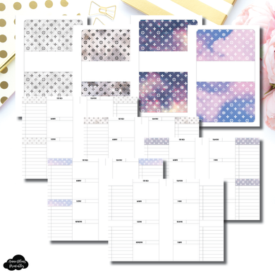 FC Rings Size | Winter Luxe Weekly Printable Insert