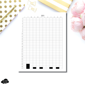 FREEBIE Standard TN Size | 2021 Life in Pixels Printable