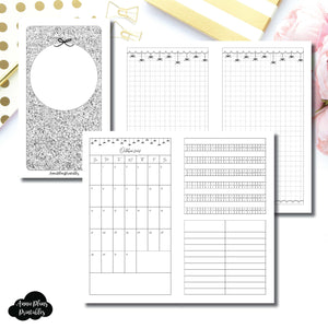 Personal TN Size | 15 Month (OCT 2018 - DEC 2019) + Tracker EllePlan Collaboration Printable Insert ©