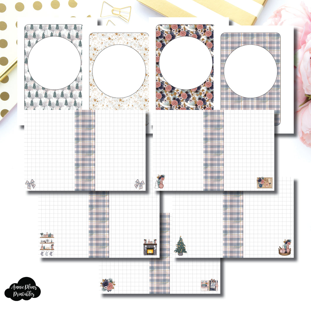 Micro HP Size | Holiday Notes Printable Insert ©