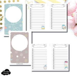 Pocket Rings SIZE | Happie Scrappie Collaboration Lists Printable Insert ©