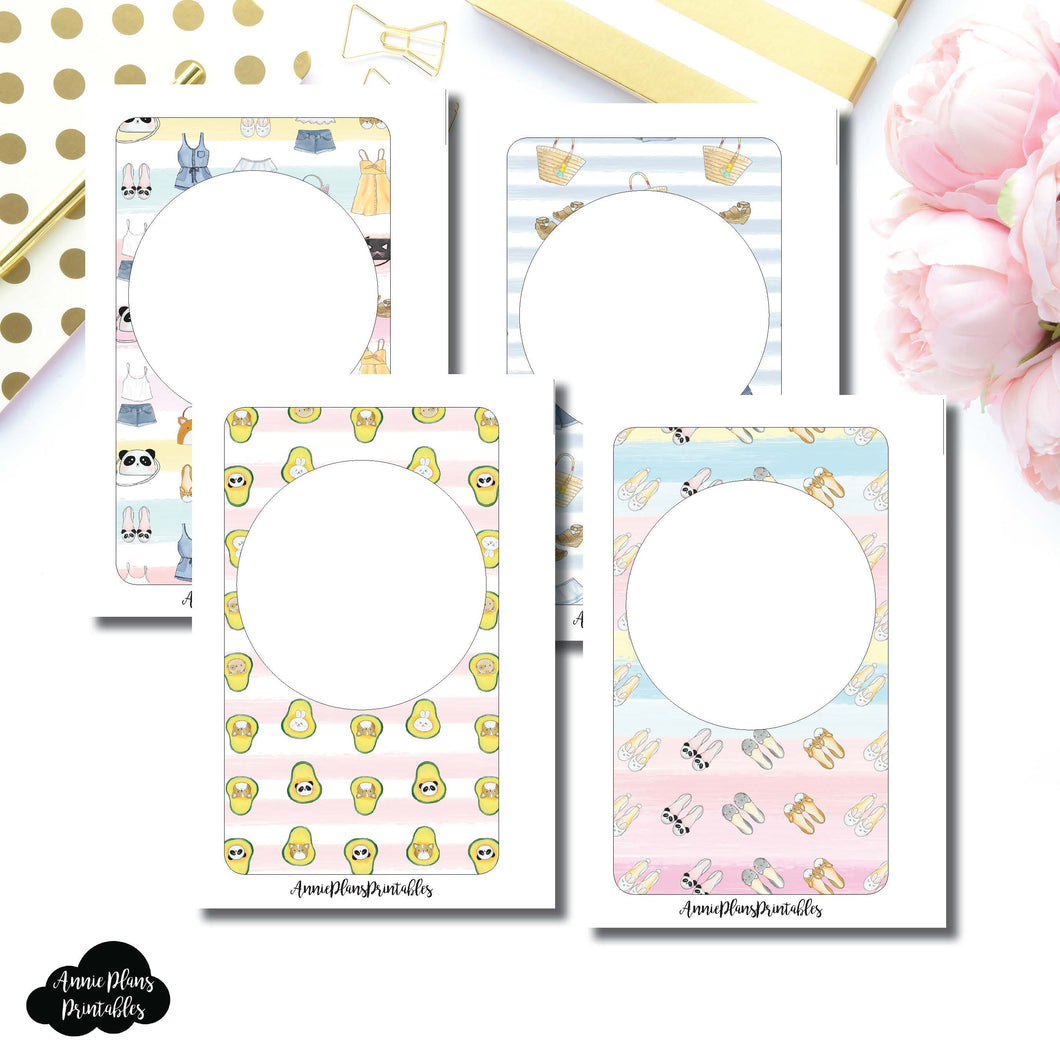 Pocket Rings Size | Blank Printable Covers for Inserts ©