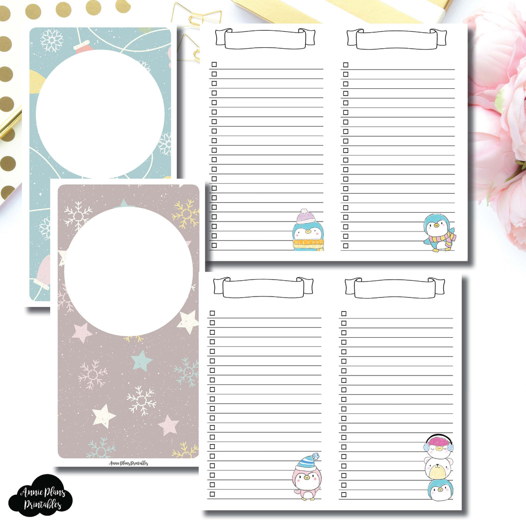 PERSONAL TN SIZE | Happie Scrappie Collaboration Lists Printable Insert ©