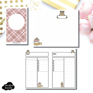 POCKET TN SIZE | Grumpy Bear Daily Collab Printable Insert ©
