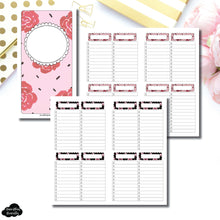 Standard TN Size | Notes & Lists Bundle Printable Inserts ©