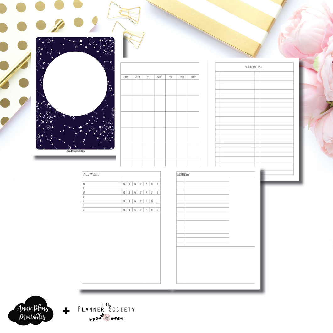 Mini HP Size | LIMITED EDITION: NOV TPS Undated Daily Collaboration Printable Insert ©