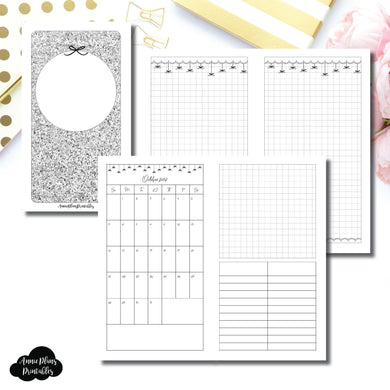Personal TN Size | 15 Month (OCT 2018 - DEC 2019) EllePlan Collaboration Printable Insert ©