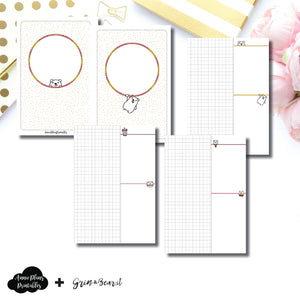 Personal Wide Rings Size | Grin & Bear It Collaboration Grid Column Printable Insert ©