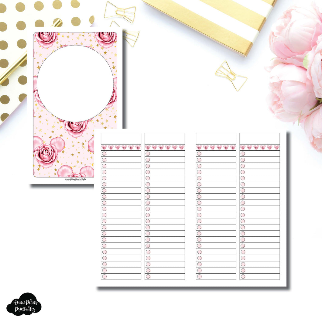 B6 Slim TN Size | Digital Dash by Planner Press List Collaboration Printable Insert