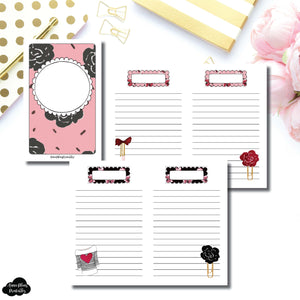 Pocket TN Size | Notes & Lists Bundle Printable Inserts ©