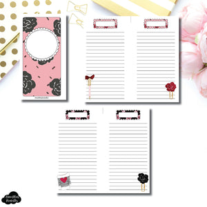 Personal Rings Size | Notes & Lists Bundle Printable Inserts ©