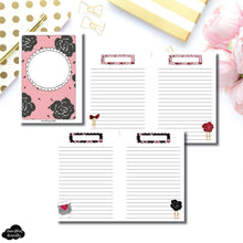 Personal Wide Rings Size | Notes & Lists Bundle Printable Inserts ©