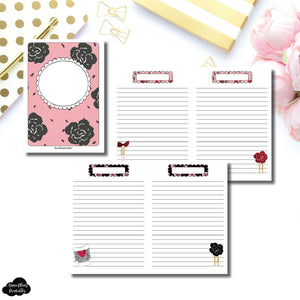 B6 TN Size | Notes & Lists Bundle Printable Inserts ©