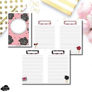 Mini HP Size | Notes & Lists Bundle Printable Inserts ©