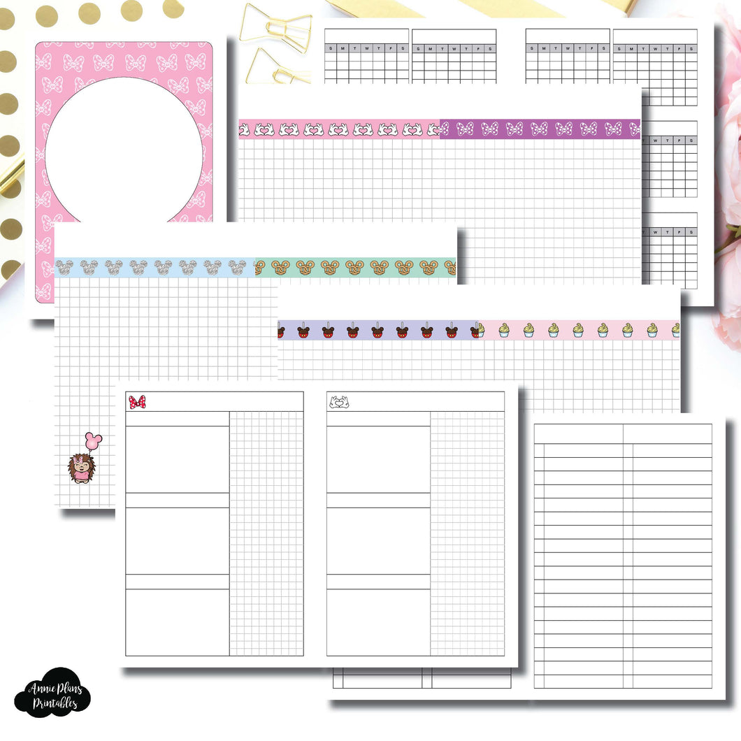 A6 Rings Size | Magical Plans Collaboration Printable Insert ©