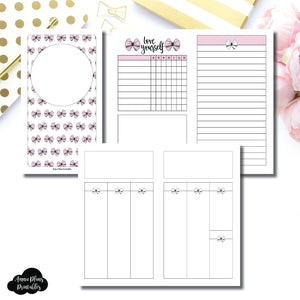 Personal TN Size | Undated Week on 2 Weeks Shell's Scribbles Collaboration Printable Insert ©