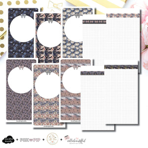 Standard TN Size | Blank Covers + Undated Grid Collaboration Printable Insert ©