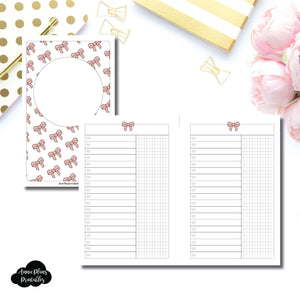 Mini HP Size | Fox & Pip Collaboration: List + Grid Column Printable Insert ©