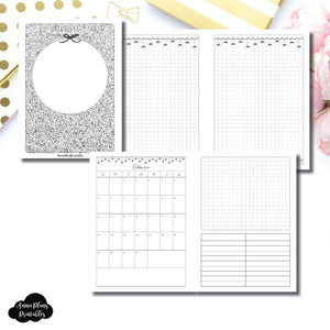 B6 TN Size | 15 Month (OCT 2018 - DEC 2019) EllePlan Collaboration Printable Insert ©