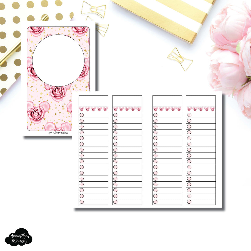Pocket TN Size | Digital Dash by Planner Press List Collaboration Printable Insert