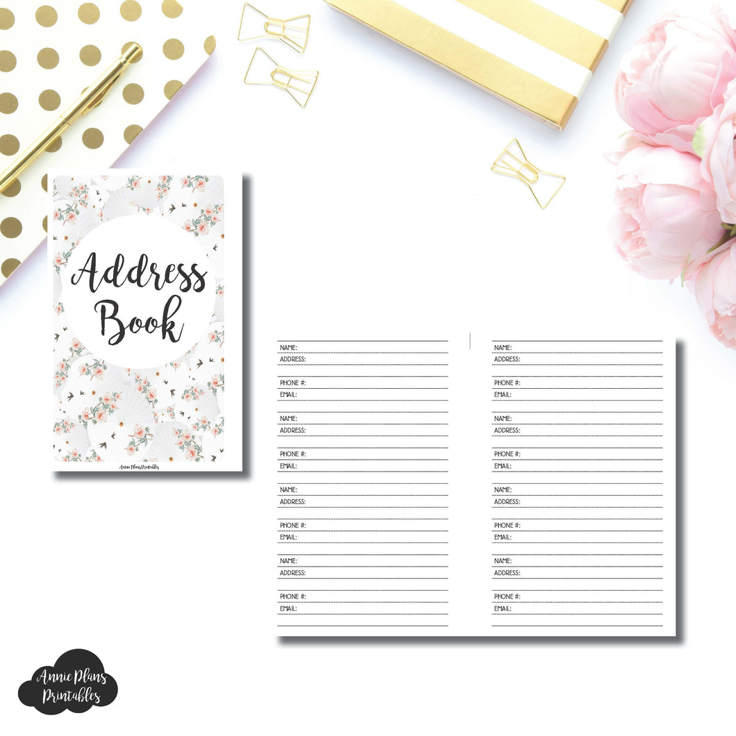 Mini HP SIZE | Address Book Printable Insert ©