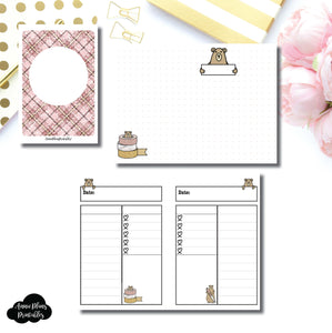 PASSPORT TN SIZE | Grumpy Bear Daily Collab Printable Insert ©