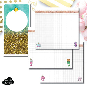 Standard TN Size | MommyLhey Designs Collaboration Plain Grid Printable Insert ©