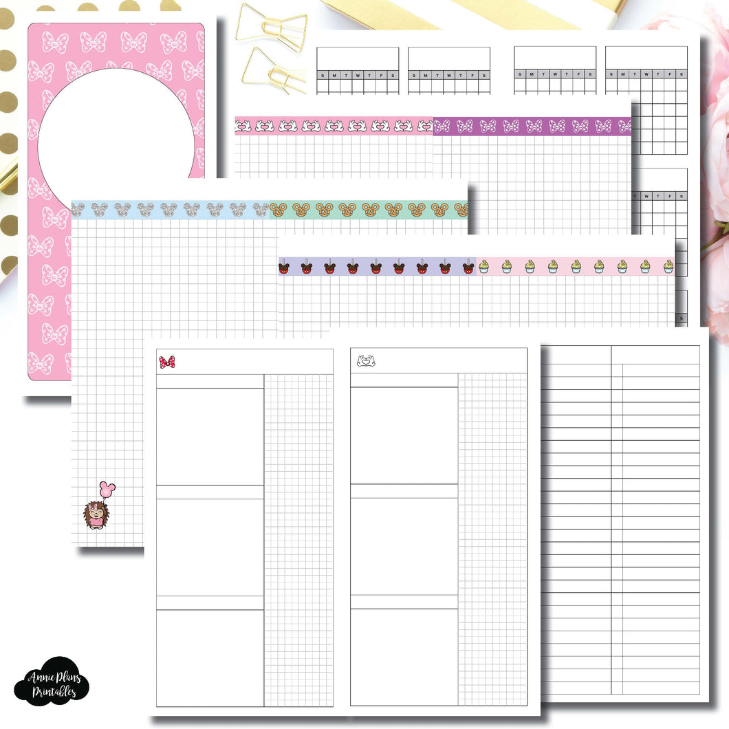 Standard TN Size | Magical Plans Collaboration Printable Insert ©