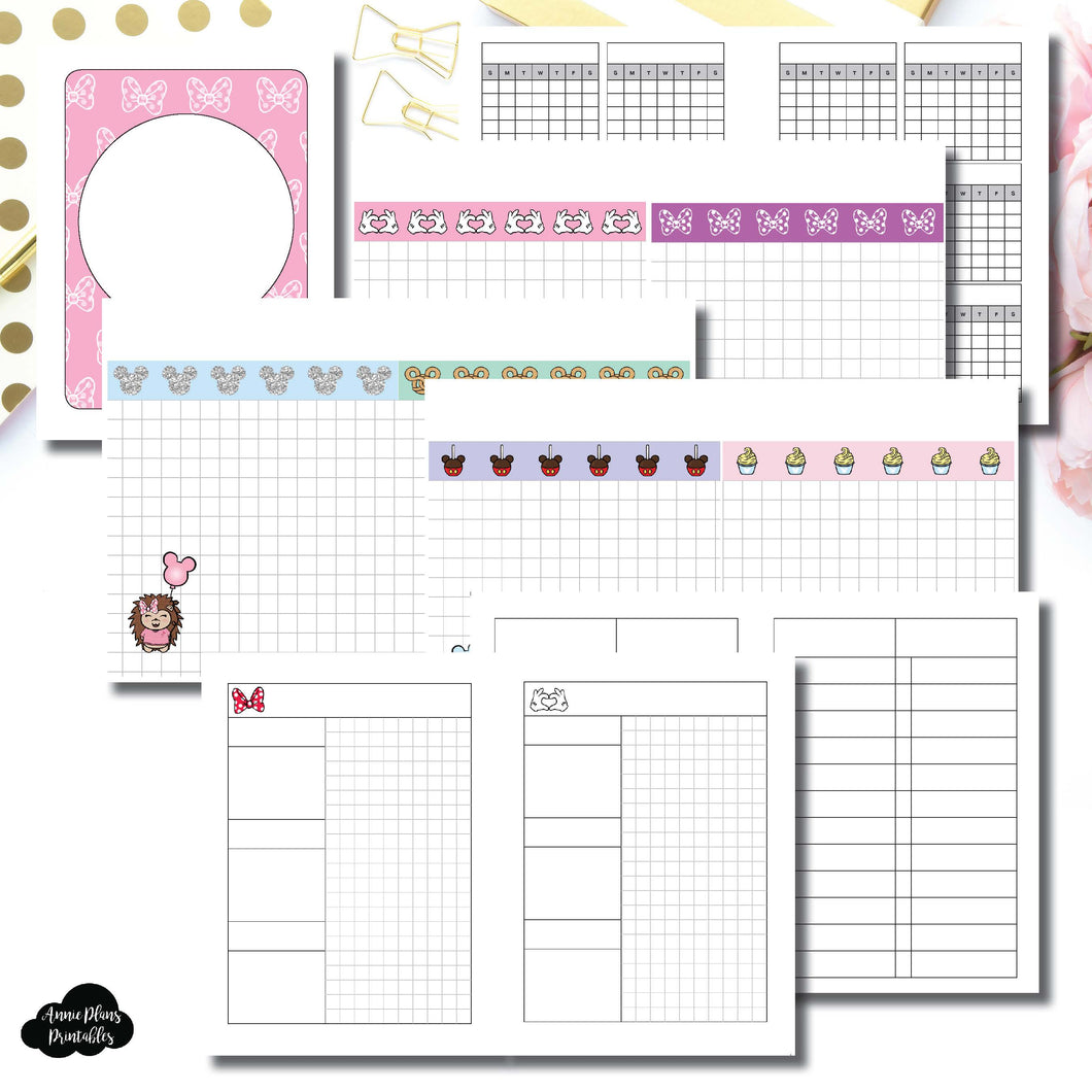 Micro TN Size | Magical Plans Collaboration Printable Insert ©