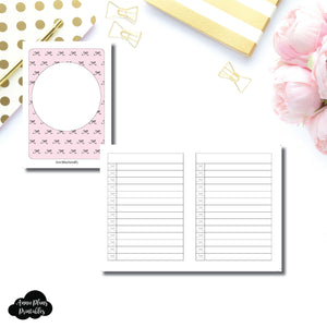 Passport TN Size | Bow List Printable Insert ©