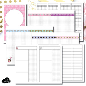 B6 Slim TN Size | Magical Plans Collaboration Printable Insert ©