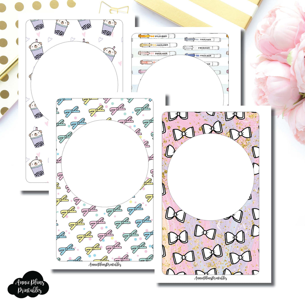 Mini HP Size | Blank Printable Covers for Inserts ©