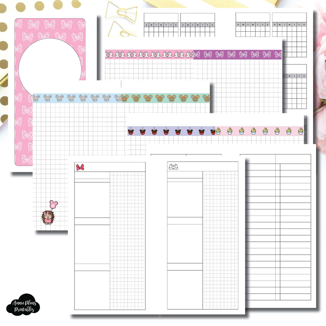 Personal Rings Size | Magical Plans Collaboration Printable Insert ©