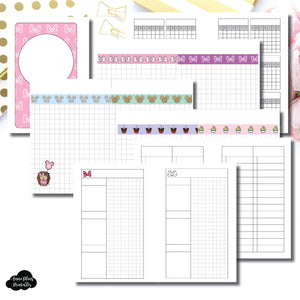 Pocket Rings Size | Magical Plans Collaboration Printable Insert ©